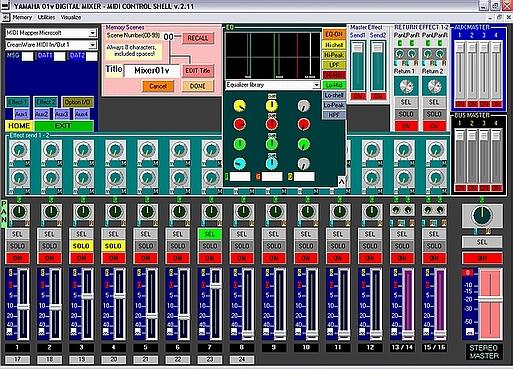 Yamaha 01v Digital Mixer Software : mixer yamaha 01v ~ Vivirlamusica.com Haus und Dekorationen